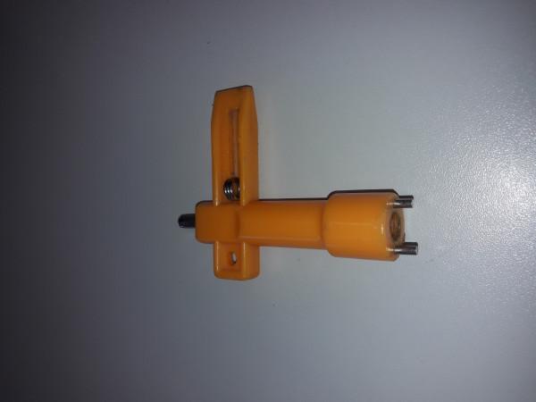 Schlüssel zu Baustellenwarnleuchte Monolight