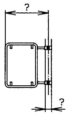 Rohrrahmen mit seitl. Rohrschelle für Signal 50/70cm