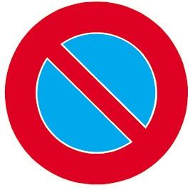 2.50 Parkieren verboten