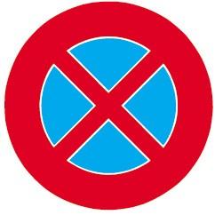 2.49 Halten verboten