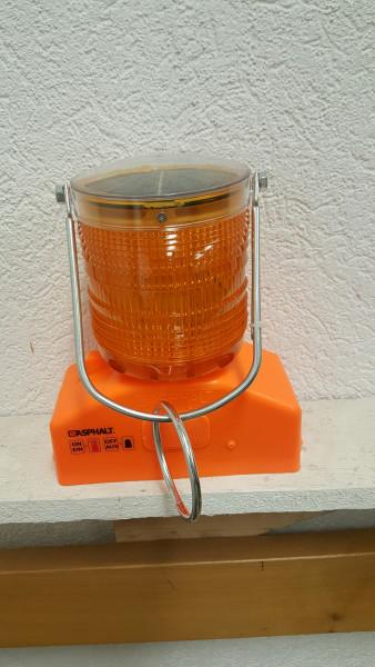 Baustellenwarnleuchte SOLAR